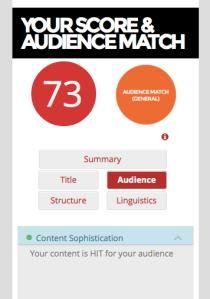 atomic engager score 73%