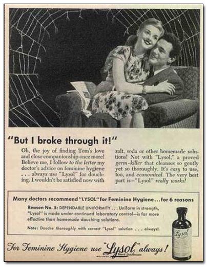 Vintage 1950s ad #1